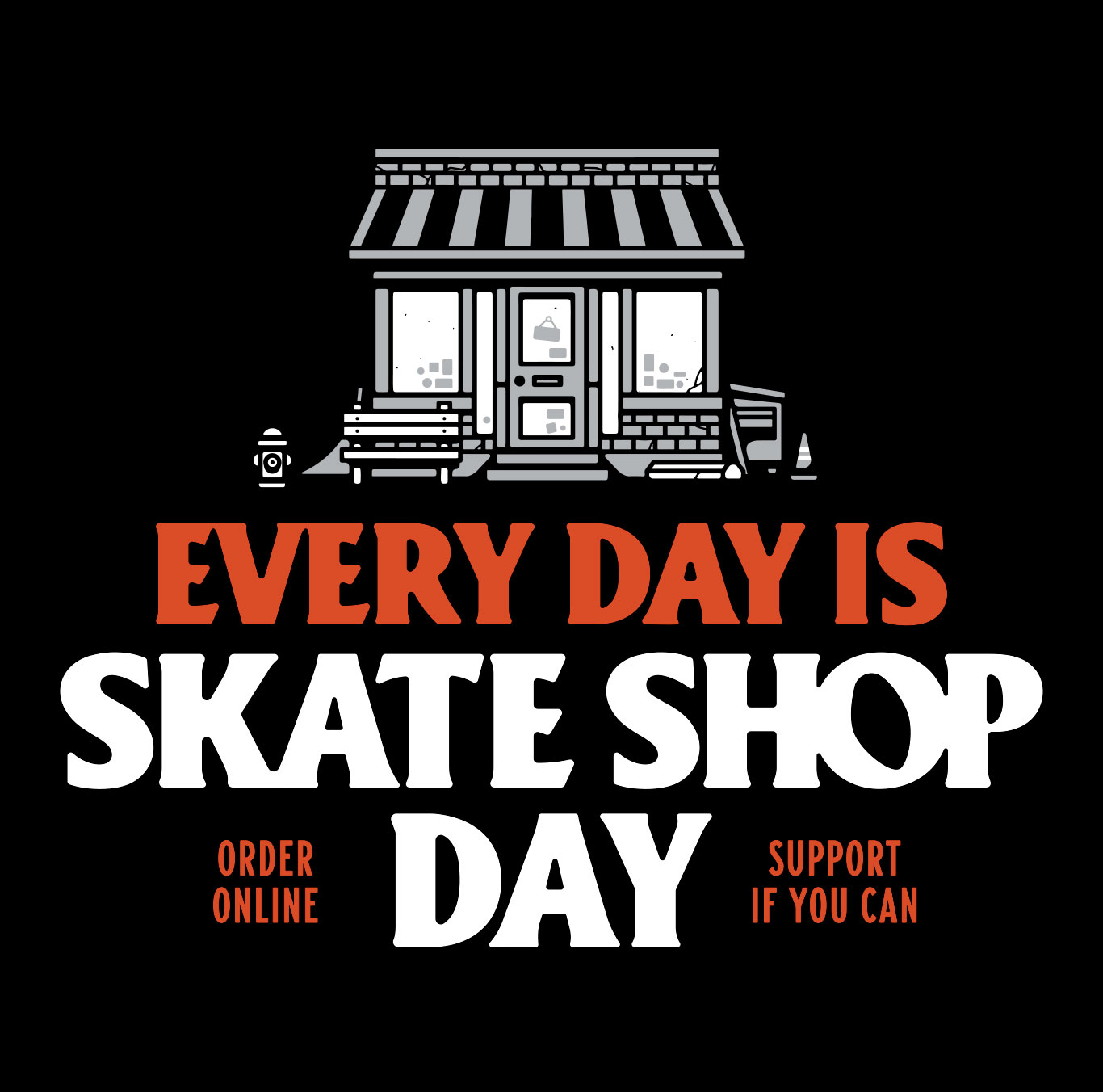 Skate Shop Day Today!